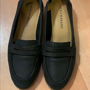 Lucky Brand black loafers sz 6